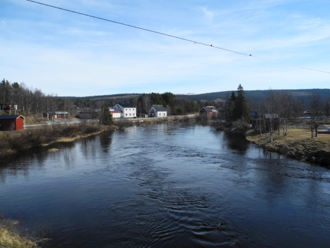 Nedan Tjulåbron den 17 maj