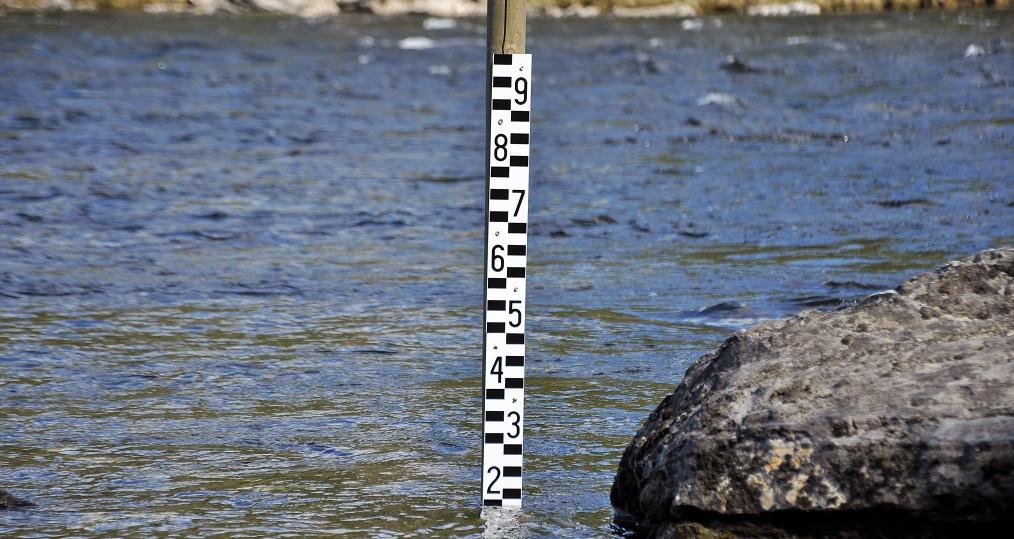 Vattennivå den 13 juni