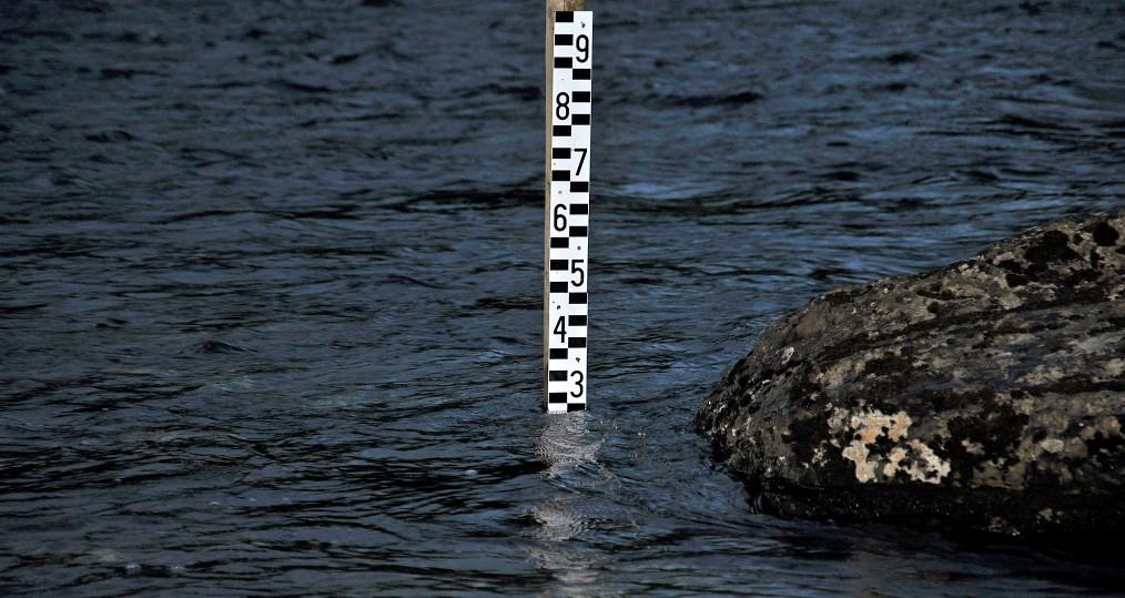 Vattenstånd den 4 juli