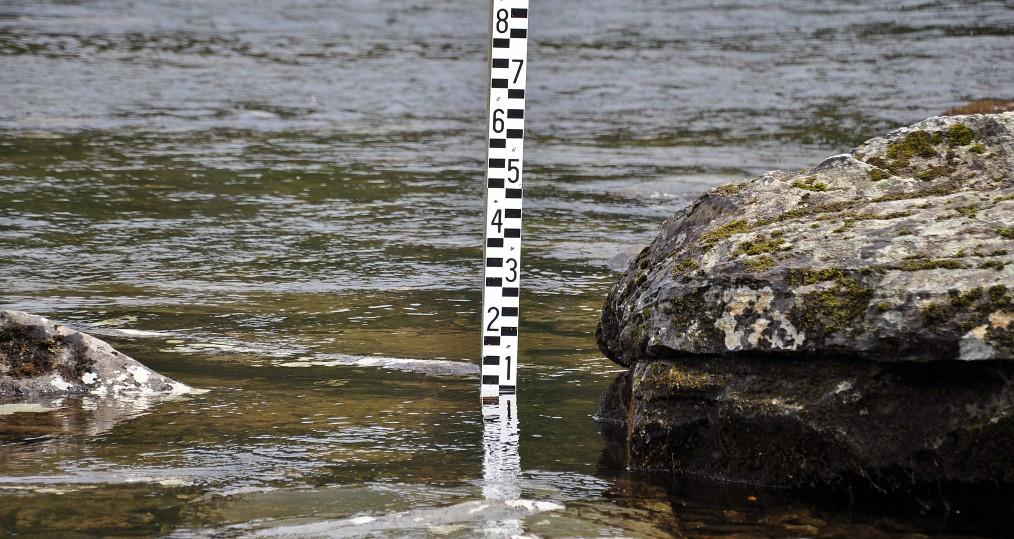 Vattennivån stiger vid Sjöforsen