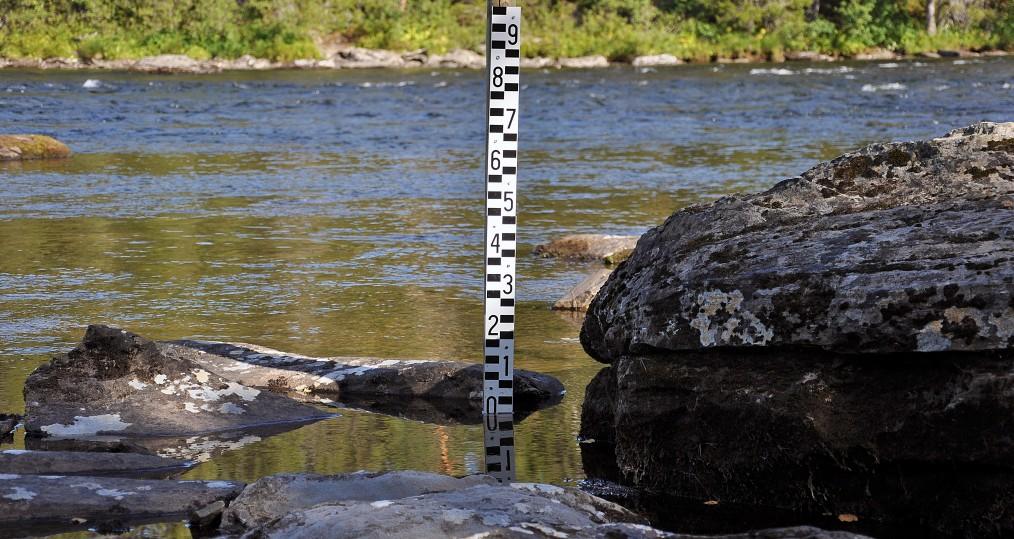 Vattenstånd den 31 aug