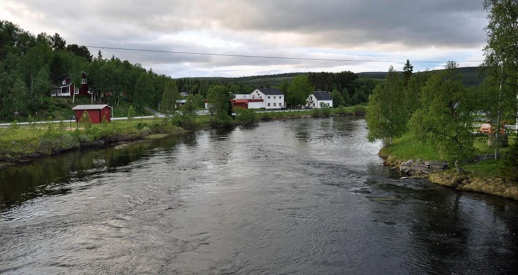 Nedan Tjulåbron den 16 juni