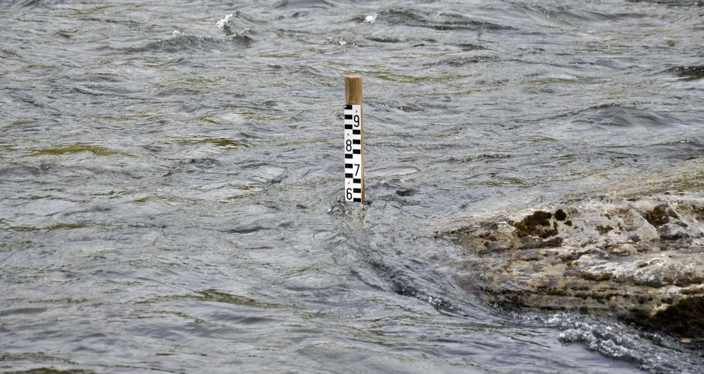 Vattennivån sjunker och vi börjar få fina förutsättningar