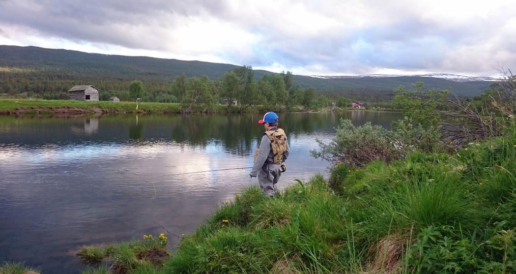 Fint fiske vid Tjulåns mynning