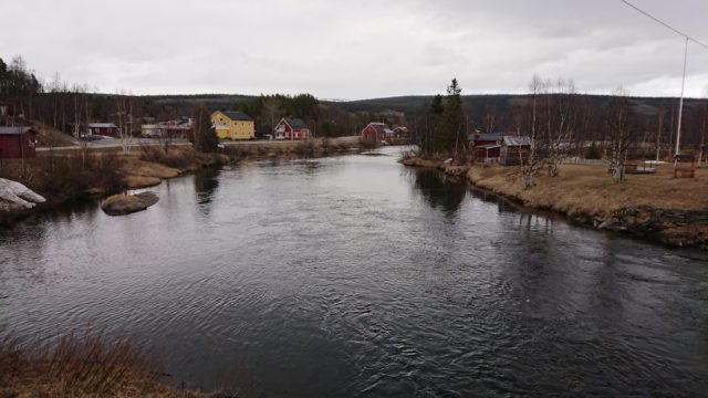 Nedan Tjulåbron den 14 maj
